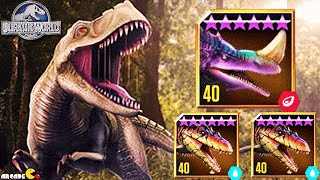 All New Hybrids Dinosaurs DOMINATOR League Tournament - Jurassic World The Game