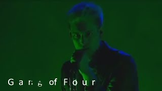Gang Of Four - Love Like Anthrax (Official | Live In The Moment)