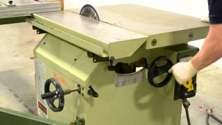 Scm Sc3 Minimax Sliding Table Saw, 1ph