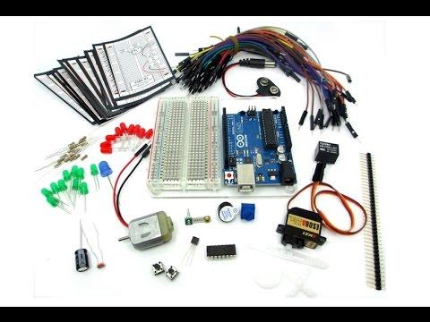 Обзор Набора АРДУИНО ДЛЯ НАЧИНАЮЩИХ (Arduino Starter Kit)