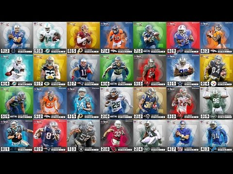 All Top 100 Players of 2016 in 2 minutes | NFL