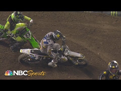 Supercross Round #3 at Anaheim | 450SX EXTENDED HIGHLIGHTS | Motorsports on NBC