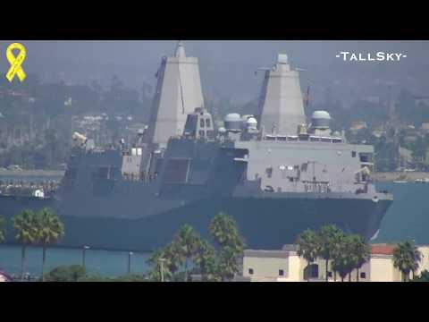 US Navy: USS Green Bay (LPD 20) Deployment, San Diego, 9/2012