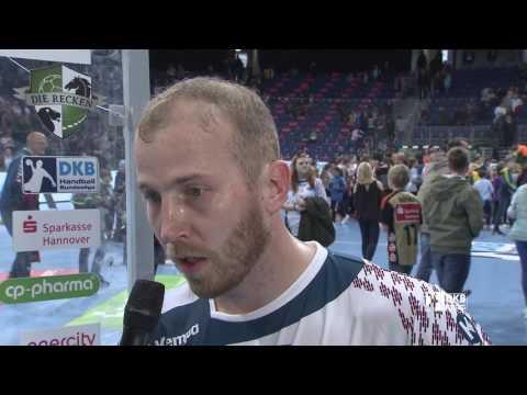 Interview Robert Weber | DIE RECKEN - TSV Hannover-Burgdorf vs. SC Magdeburg | 16.04.2017