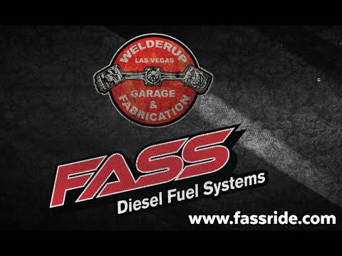 WelderUp Garage Swampass FASS Installation