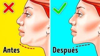 7 ejercicios más eficientes para deshacerte de la papada thumbnail