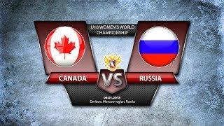 WW U18. Canada-Russia