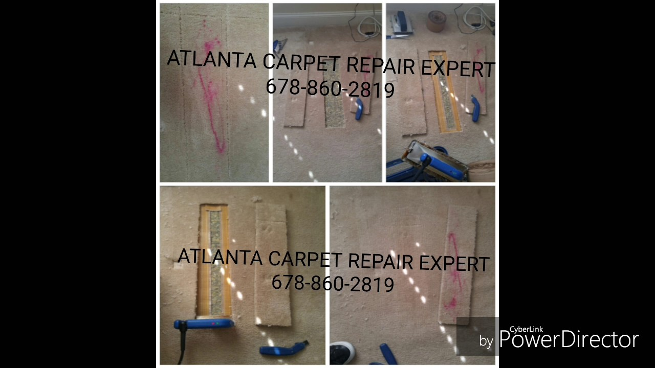 carpet patching - YouTube