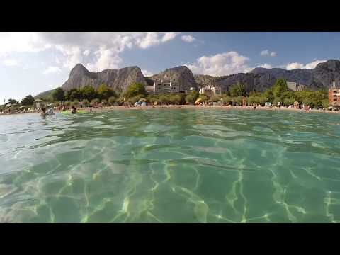 Omiš (view from the beach), Croatia | GoPro