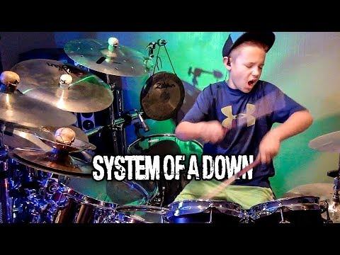 CHOP SUEY! - SOAD (9 year old Drummer) Drum Cover by Avery Drummer Molek