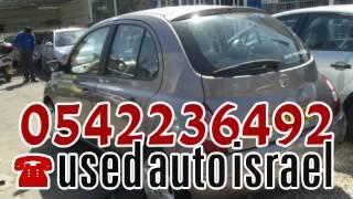 Автомобили Ниссан Израиль продажа обмен тел 0542236492 Nissan