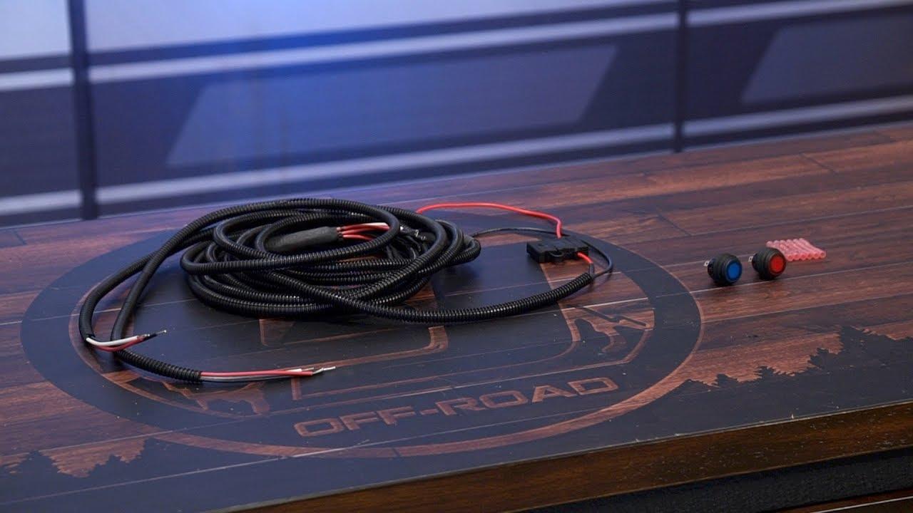 rigid led wiring harnes [ 1280 x 720 Pixel ]