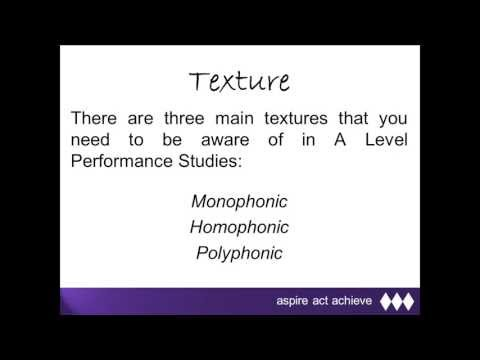 What is Texture?