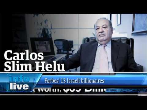 Forbes' 13 Israeli billionaires