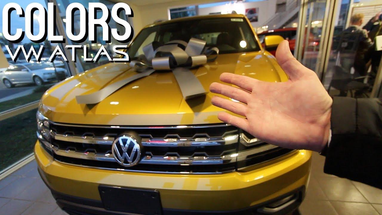 Vw Atlas Plus A R Line Rim Colors