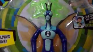 Ben 10 Reboot Stinkfly Figure Review