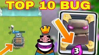 Top 10 Bug a Clash Royaleban! Legviccesebb és Legdurvább Buggok!