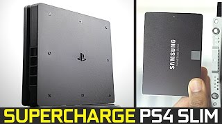How To Upgrade Your PS4 Slim With a 1Tb SSD!