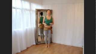 Bellydance tutorial: how to do the maya on the down