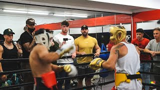 SOCIAL GLOVES EVENT BRADLEY MARTYN VS ?