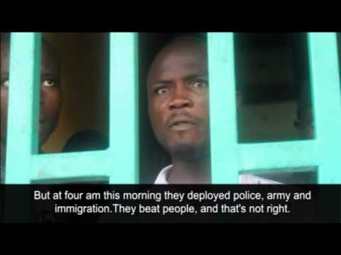 Tensions flare after Liberian police quarantine a neighbourhood in Monrovia over Ebola vir