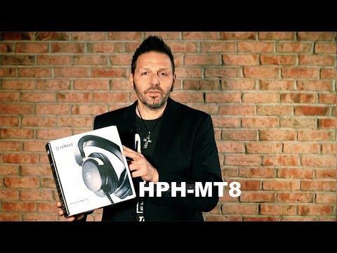 Video Yamaha HPH-MT8 Headphones - presented by Dirk Sengotta