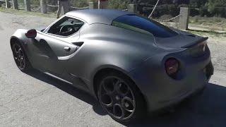 Tuned Alfa Romeo 4C One Take