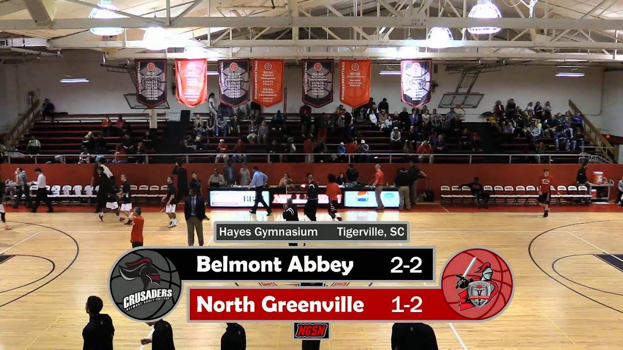 Belmont Men S Basketball >> NGU Men's Basketball 2015-16 - North Greenville vs. Belmont Abbey - YouTube