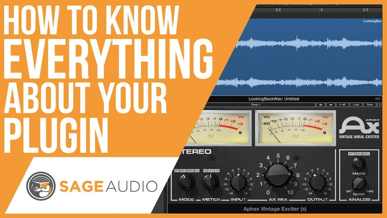 How to Know Everything About Your Plugin — Sage Audio