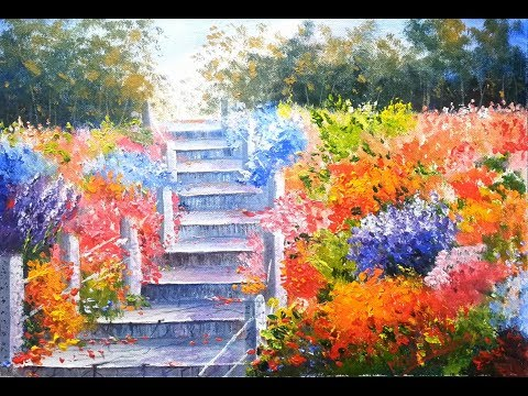 Garden - Acrylic Painting Lesson