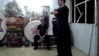 Josh Smith Australian Jow ga Kung Fu Academy mini clip - Chung Oi Chau Biu Kwoon visit Hong Hong