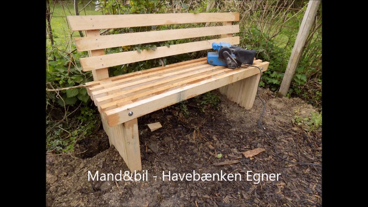 Sådan Bygger Man En Havebænk Youtube