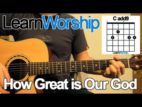 How Great is Our God - Guitar Tutorial - YouTube