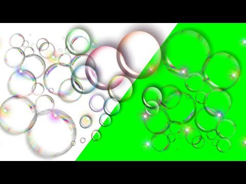 Green Screen Free Bubble Effects  [4K] thumbnail