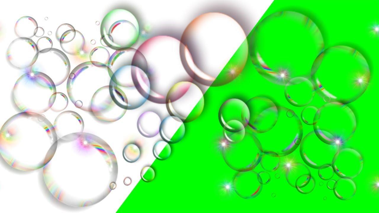 Green Screen Free Bubble Effects  [4K]  Free Download Link