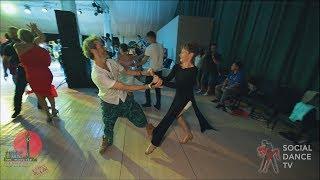 Frederic Taieb & Marina Vanyushina - Salsa social dancing at the 2018 The Third Front Salsa Festival