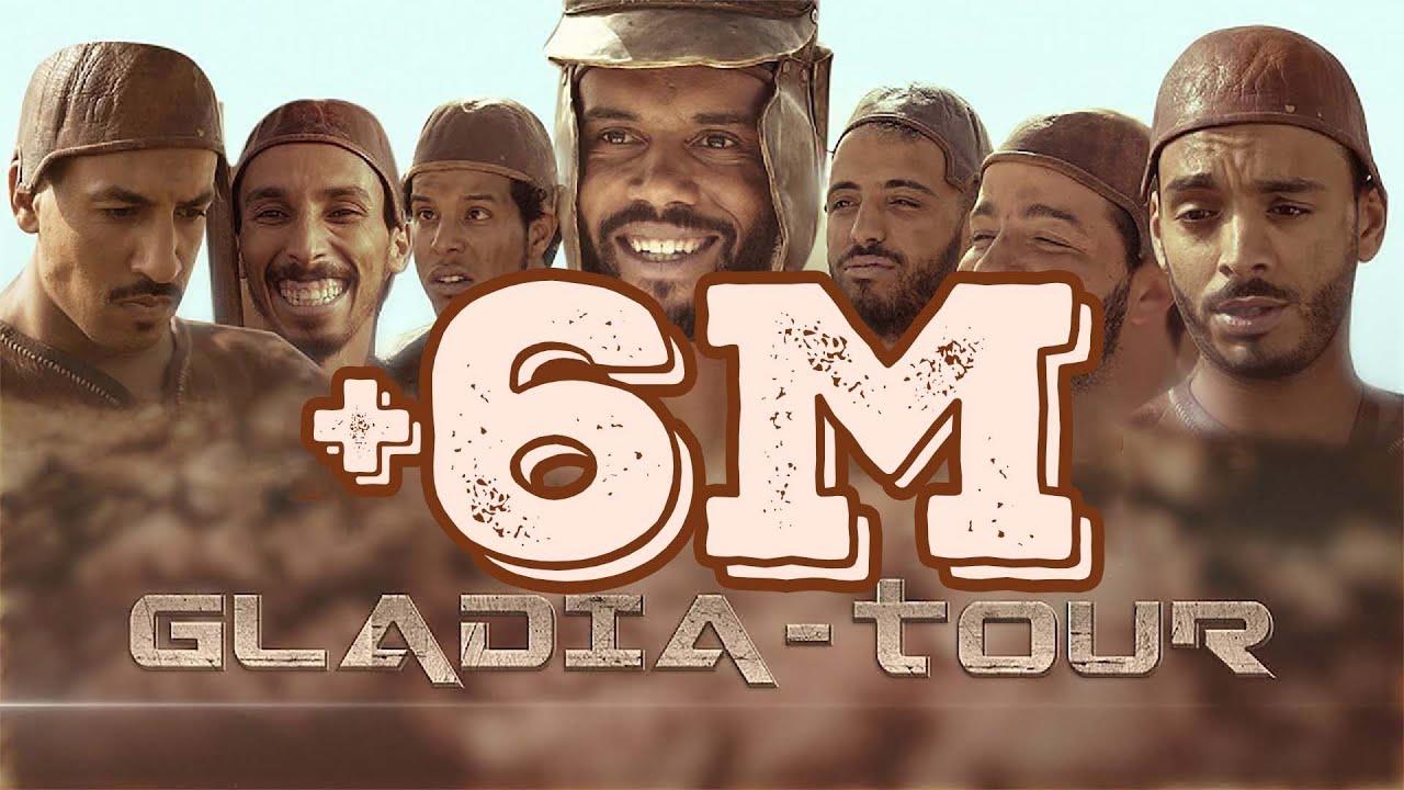 GLADIA-TOUR Teaser Humouraji Fnaire Tour #Humouraji_Fnaire_Tour