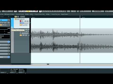 How to Make Bass Drops in Cubase
