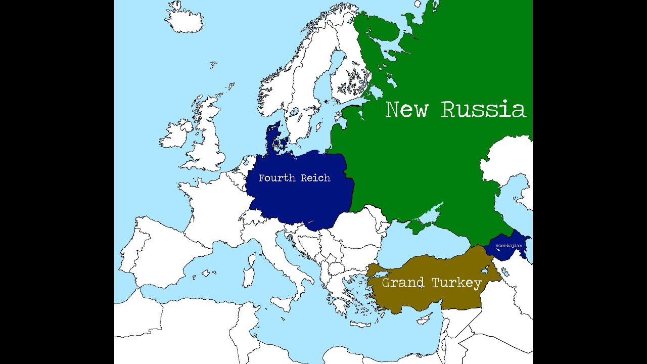 alternate future of europe part 3new russiamap