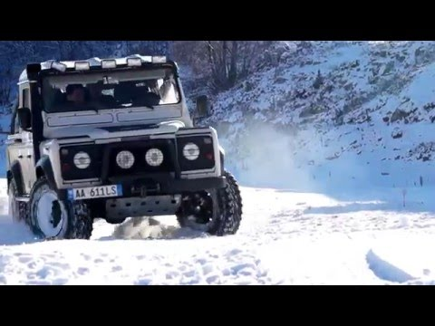 Discovery Jeep Albania, part-39 (Snow 4x4 adventure in STEBLEVE)