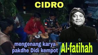 Download lagu CIDRO dari sang maestro didi kempot kami persembahkan untuk  mengenang karya pakde didi kempot