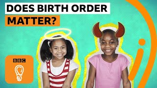 Are you the eldest child? Youngest? Are birth order stereotypes true? | BBC Ideas