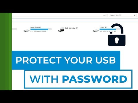 How To Protect USB With Password - Windows 10