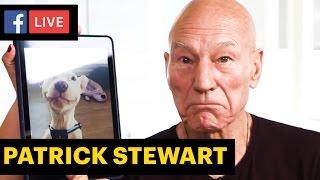 Patrick Stewart talks