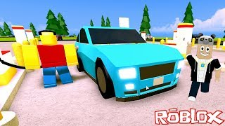 Benzin İstasyonu Kuruyoruz!! - Panda ile Roblox Gas Station Simulator