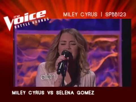 The Voice Of ATRL - Battle Rounds - Miley Cyrus VS Selena Gomez