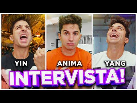 INTERVISTA TRIPLA - ANIMA, YIN SASCHA E YANG SASCHA. ANNUNCIO MOLTO IMPORTANTE!