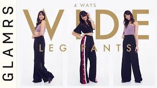 Wear Wide Leg Pants Like A Pro   2018 Fashion Trends