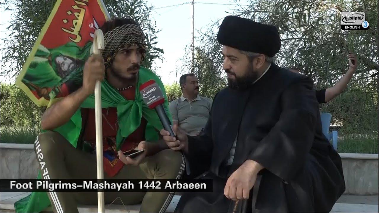 Arbaeen reports with Sayed Ali Al Nawab – 17th Saffar