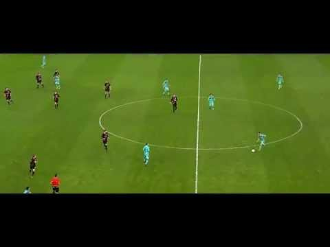 Lionel Messi vs Bayer Leverkusen (Champions League-A) 14-02-2012